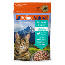 Feline Natural New Zealand Grass-Fed Beef & Hoki Feast 100g