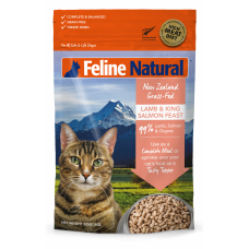 Feline Natural New Zealand Grass-Fed Lamb & Salmon Feast 100g