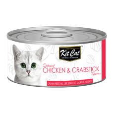 Kit Cat Deboned Chicken & Crabstick 80g