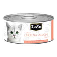 Kit Cat Deboned Chicken & Salmon 80g