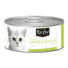 Kit Cat Deboned Chicken & Seafood 80g