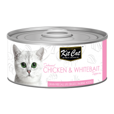 Kit Cat Deboned Chicken & Whitebait 80g