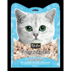 Kit Cat Freeze Bites Cat Treats Cod Fish Flavour 15g (3pkt)