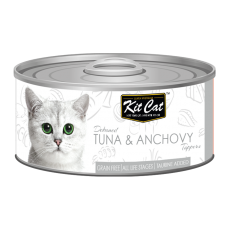 Kit Cat Deboned Tuna & Anchovy 80g