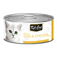 Kit Cat Deboned Tuna & Chicken 80g