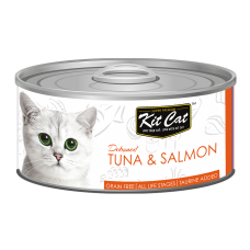 Kit Cat Deboned Tuna & Salmon 80g