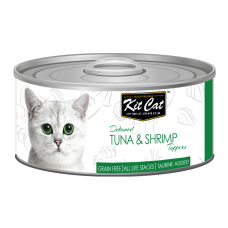 Kit Cat Deboned Tuna & Shrimp 80g
