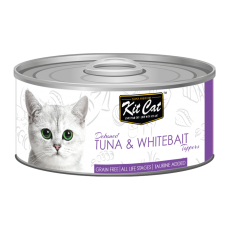 Kit Cat Deboned Tuna & Whitebait 80g
