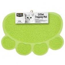 Kit Cat Litter Trapping Mat (L) Green