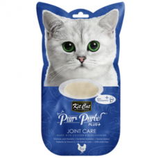 Kit Cat Purr Puree Plus Joint Care Chicken & Glucosamine 15g x 4's (3 Packs)