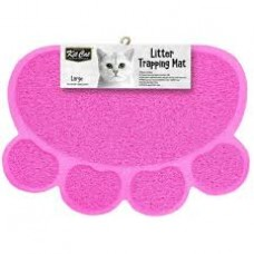 Kit Cat Litter Trapping Mat (L) Pink