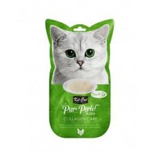 Kit Cat Purr Puree Plus Collagen Care Chicken & Collagen 15g x 4's