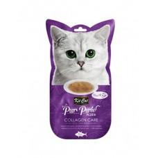 Kit Cat Purr Puree Plus Collagen Care Tuna & Collagen 15g x 4's
