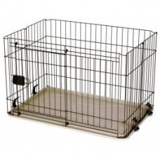 Marukan Dog Cage With Sliding Door Medium
