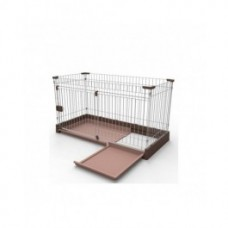 Marukan Easy Cleaning Dog Pen Large Brown