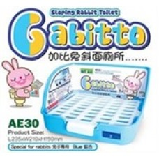 "Alice ""Gabitto"" Sloping Rabbit Toilet Blue AE30"