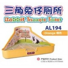 Alex Rabbit Triangle Toilet Yellow AL194