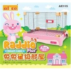 Alice Raddio Plus Rabbit Cage AE115 Pink