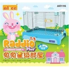Alice Raddio Plus Rabbit Cage AE116 Blue