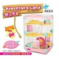 Alice Adventure Land (Small/Double Deck) AE23 Pink