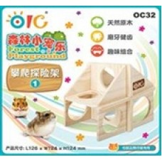OIC Forest Playground - Adventure Climbing Frame 1 OC32