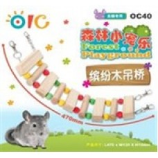 OIC Forest Playground - Colorful Wood Bridge OC40